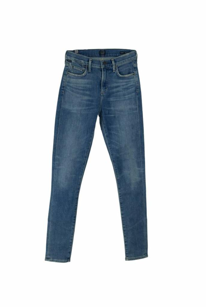Rocket high rise skinny jeans reyes