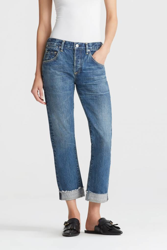 Emerson slim fit boyfriend ankle  jeans somerset