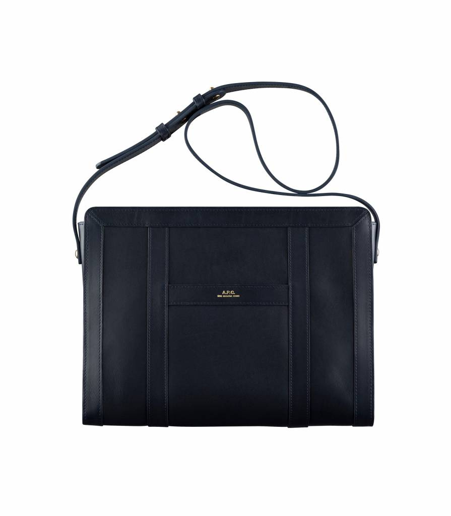 A.P.C. Nina bag dark blue