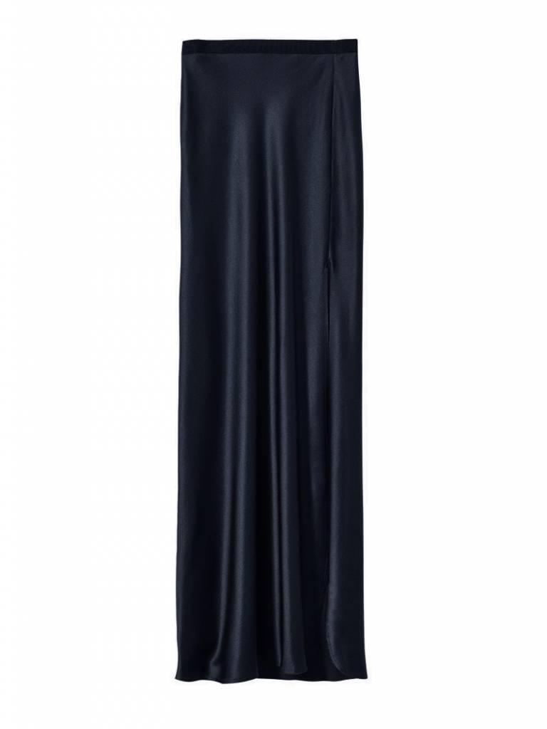 Nili Lotan Maya maxi skirt navy