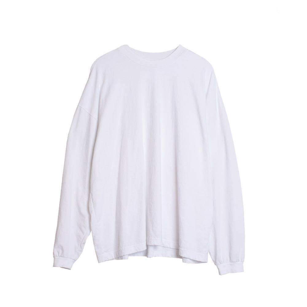 Stand Aloné half neck basic t-shirt white