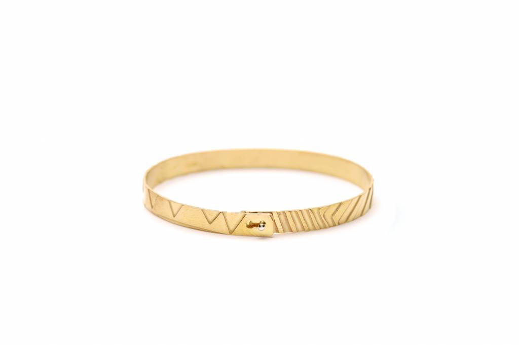 Wouters & Hendrix etched bracelet with clasp