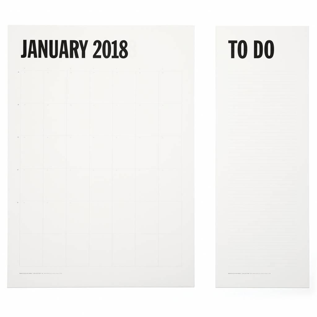 Marjolein Delhaas wall planner