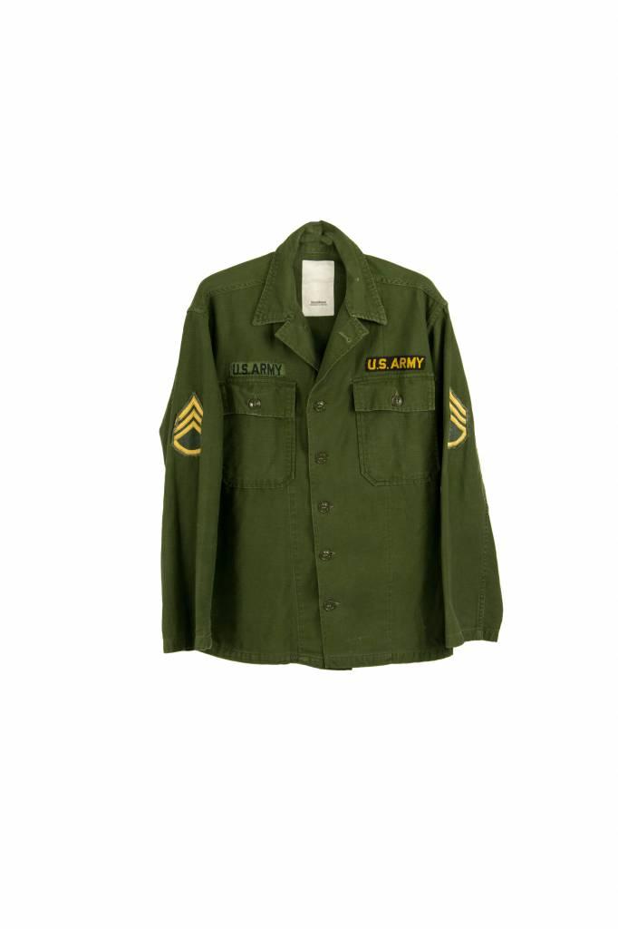 Stand Aloné vintage dyed jacket khaki