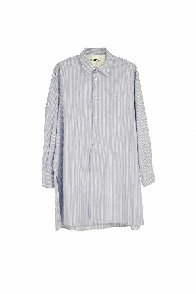 Hope Coast shirt blue stripe