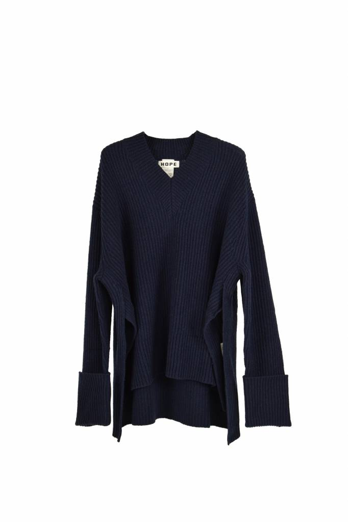 Hope Moon sweater dark blue
