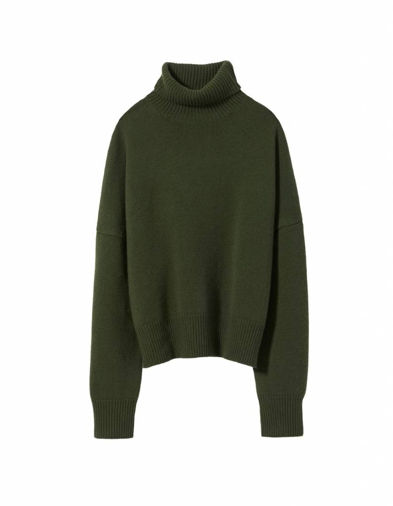 Nili Lotan Serinda sweater olive