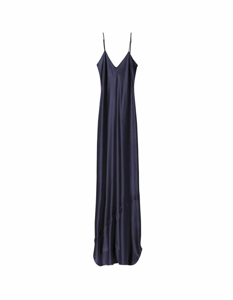 Nili Lotan Cami gown dark navy