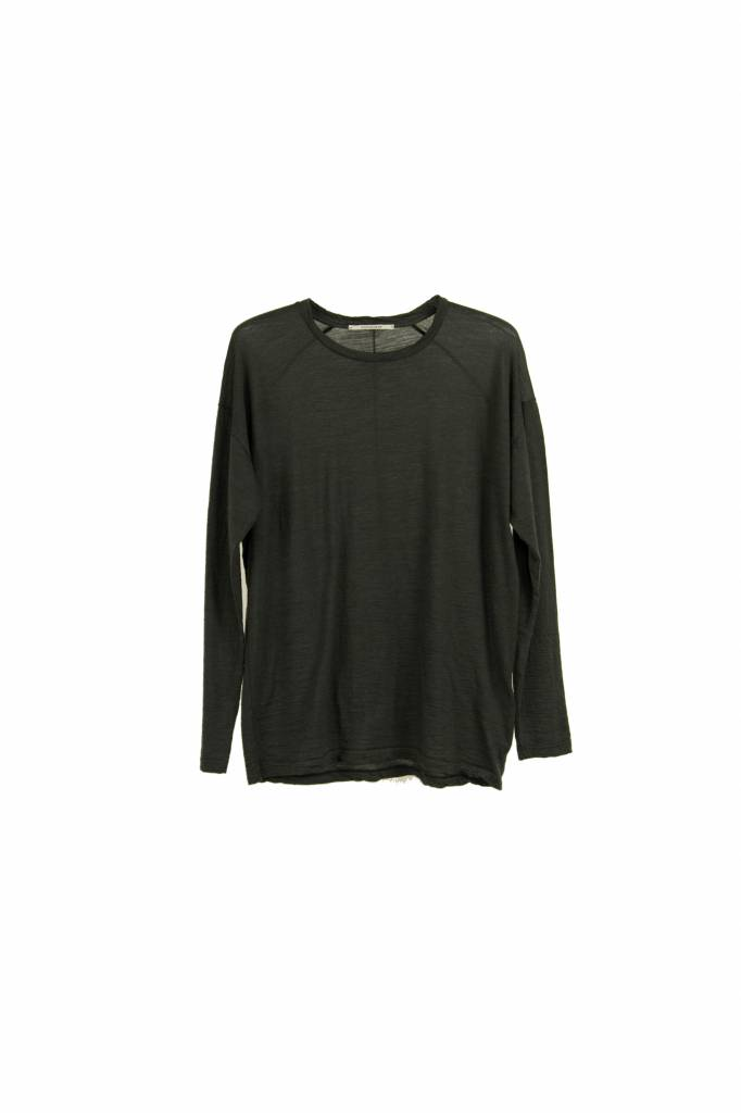Pomandère t-shirt  long sleeve taupe