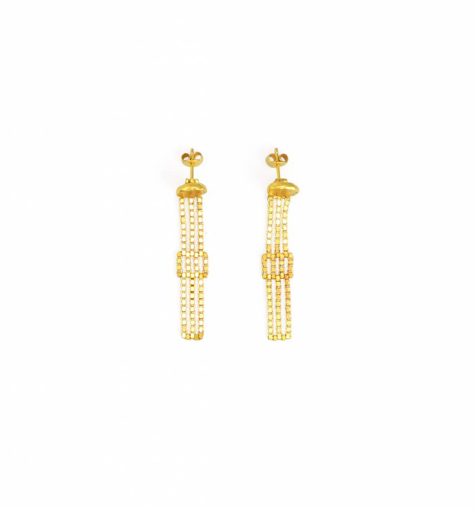 Martine Viergever Lucretia earrings gold