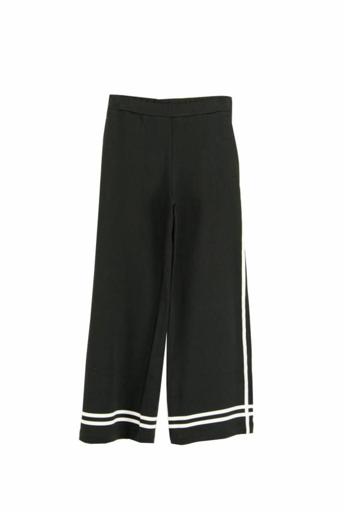 Jersey jogging pantalon black stripe