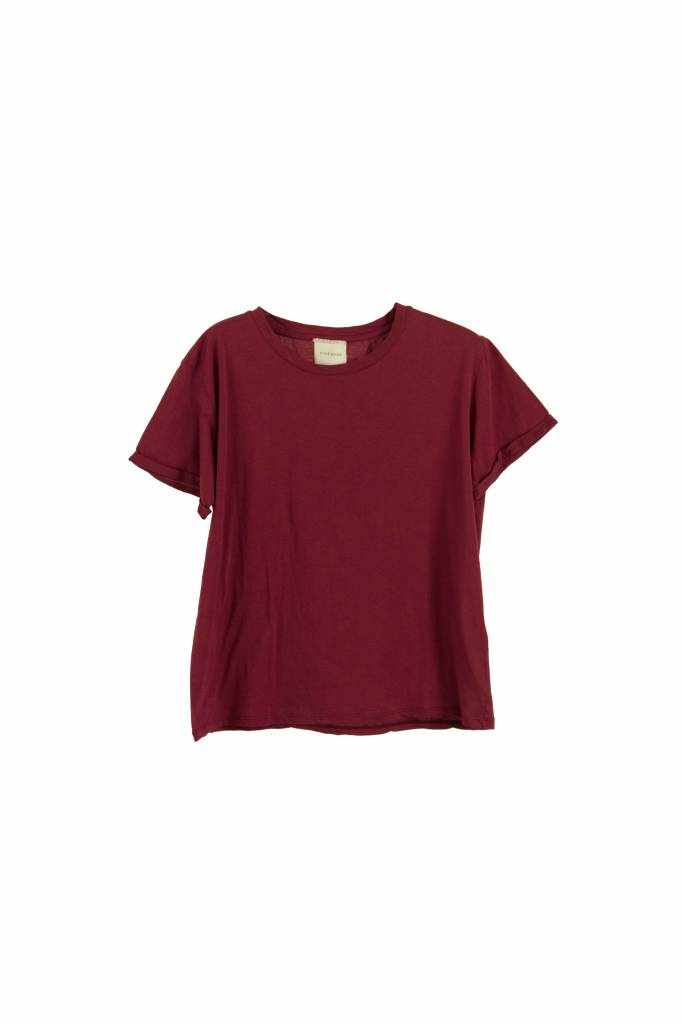 Fine Edge Basic t-shirt anemone