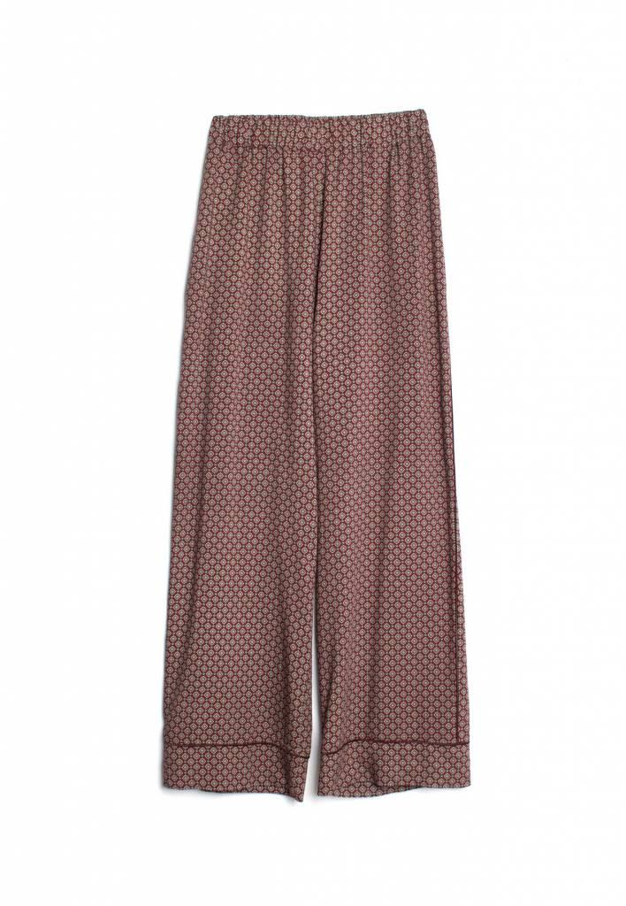 Stand Aloné pyjama pants print wine