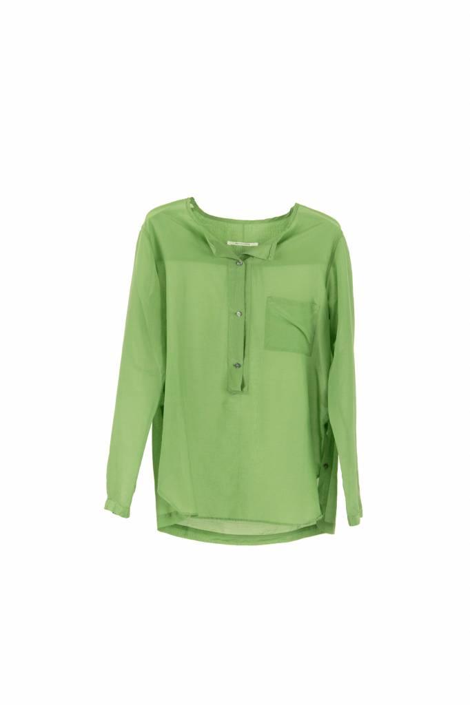 Pomandère blouse eden green