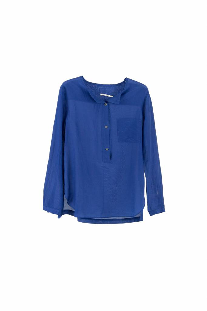 Pomandère blouse kingsblue