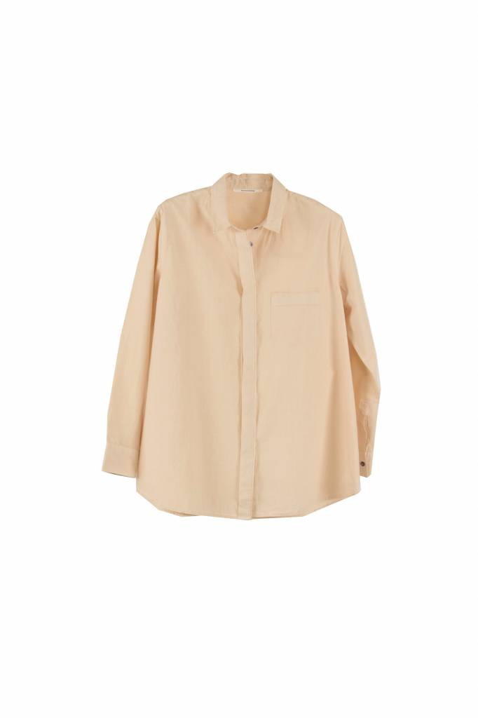 Pomandère blouse pale pink