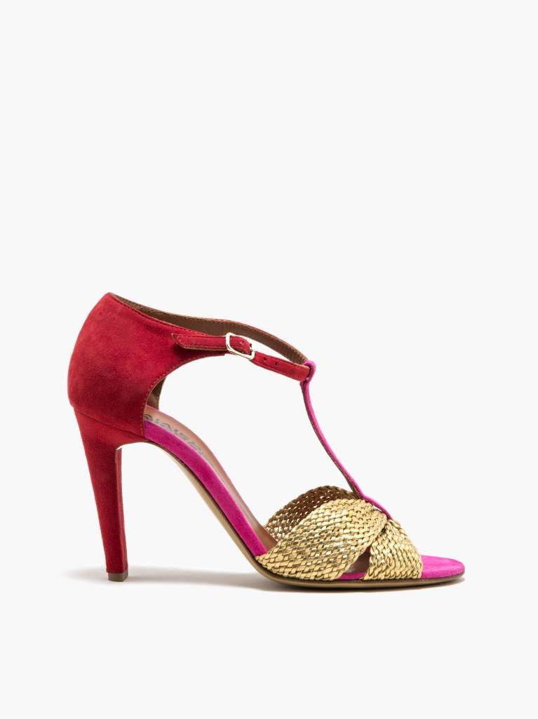 Michel Vivien Elina heel pink/gold