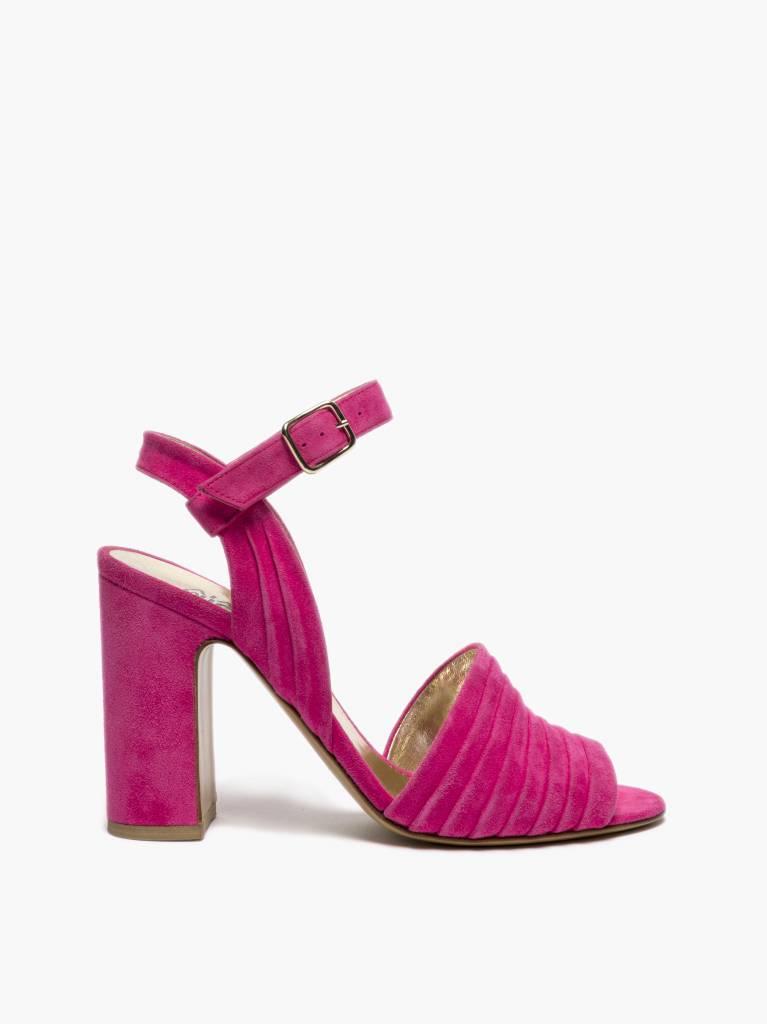 Michel Vivien Tyche heel fluo pink