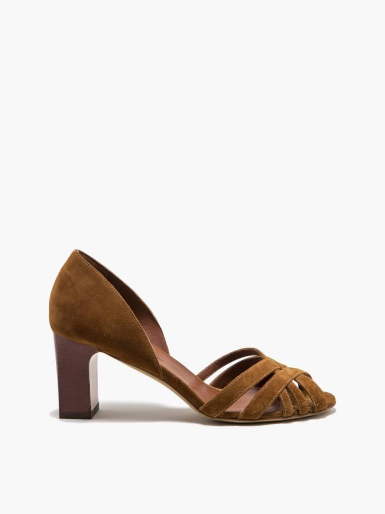 Michel Vivien Alyssa sandal cognac