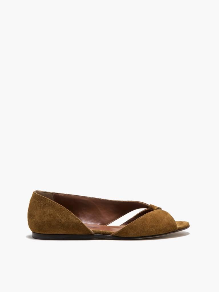 Michel Vivien Malika sandal cognac