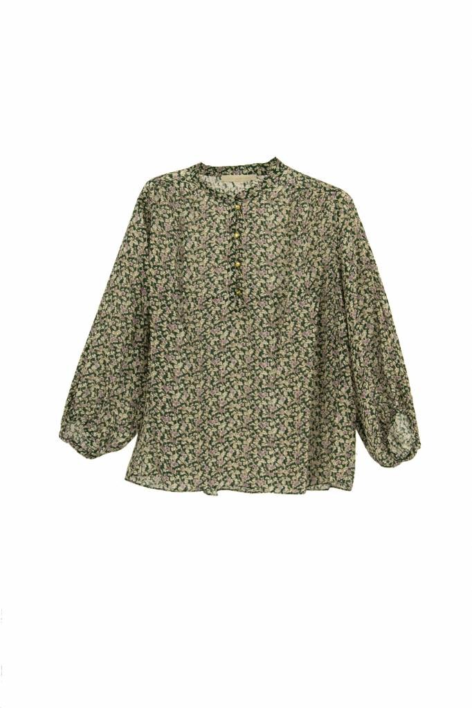Vanessa Bruno Ikra blouse forest
