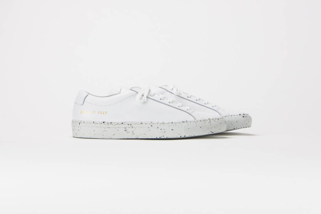 Common Projects Achilles low w/ confetti sole white/black