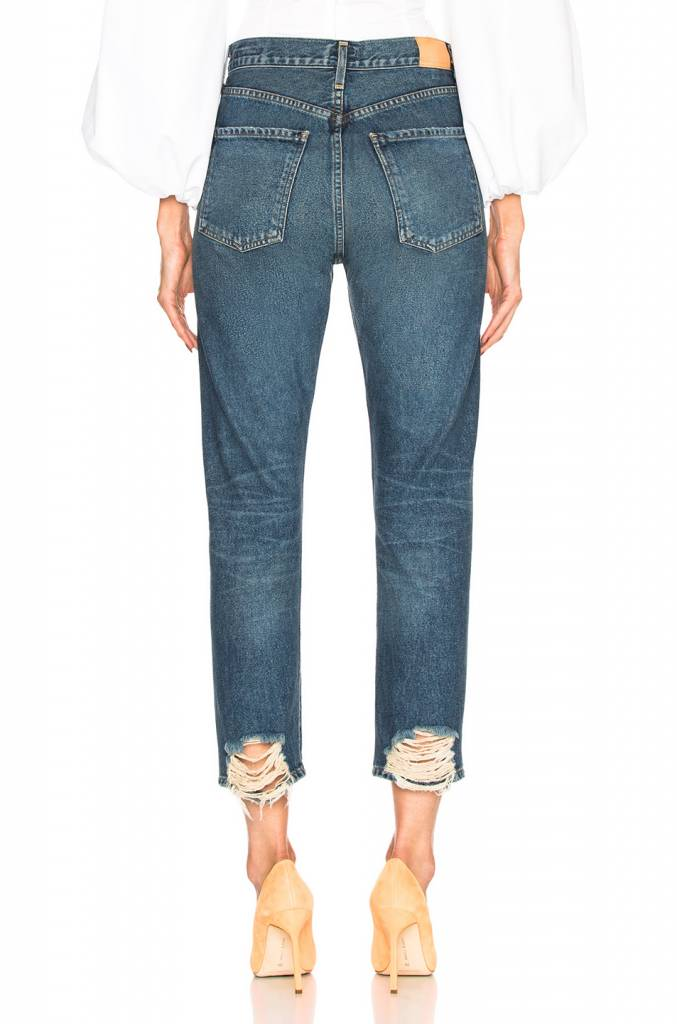 Citizens of Humanity Dree crop high rise jeans in harmony