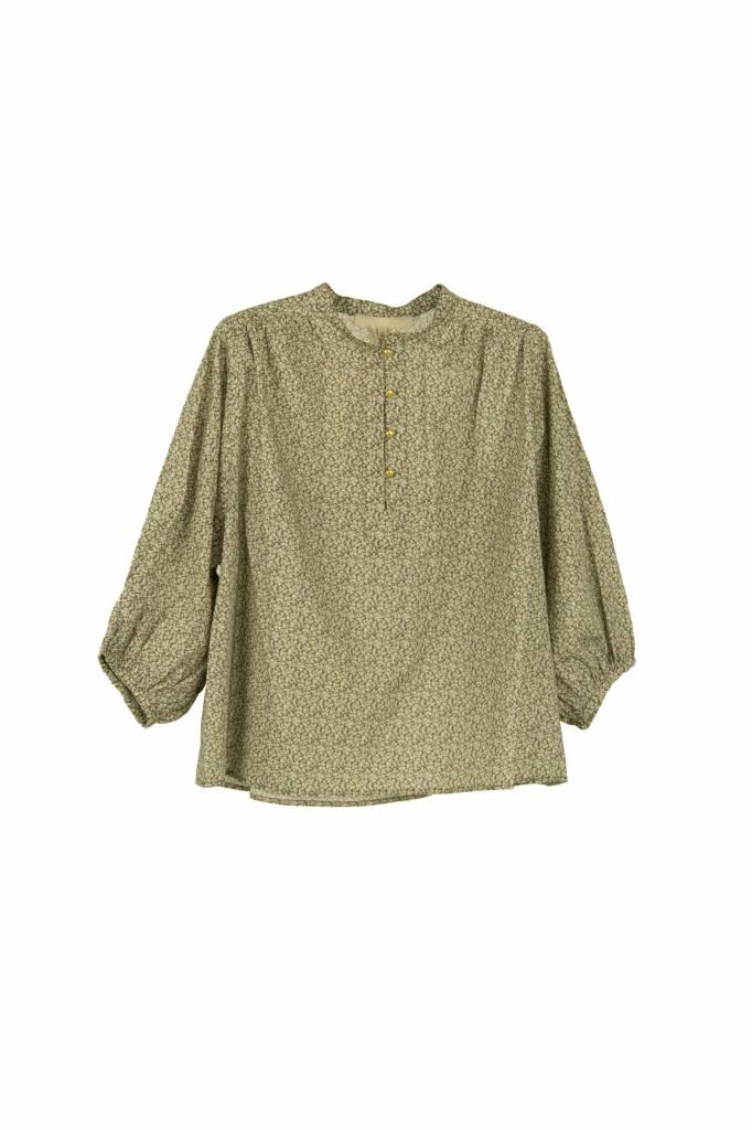 Vanessa Bruno Ikra blouse kaki print