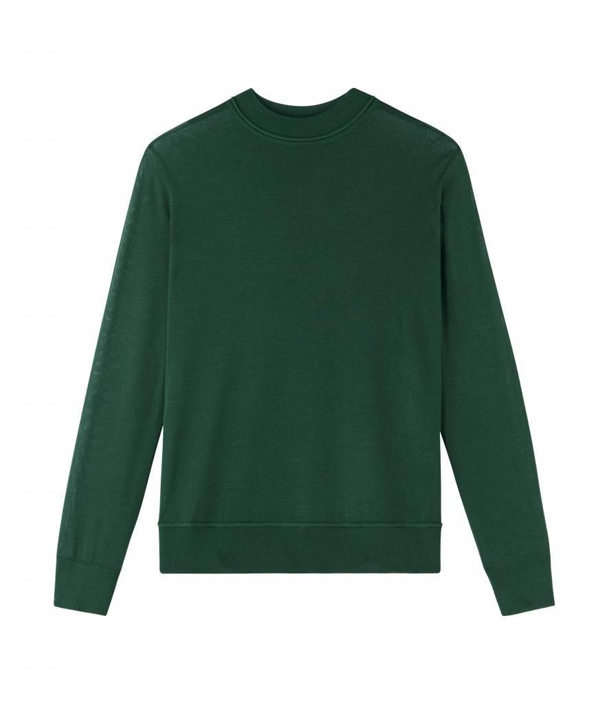 A.P.C. Seberg pullover vert sapin