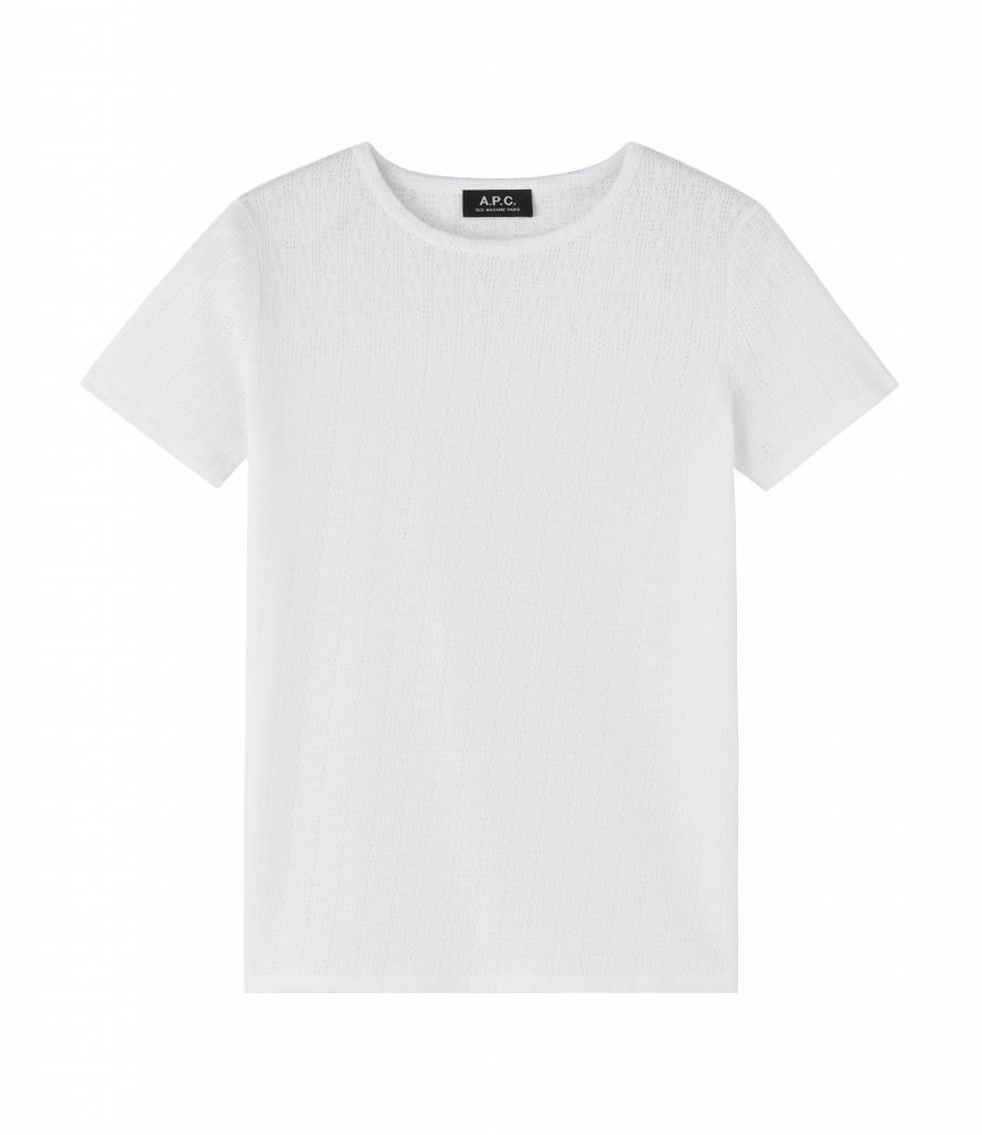 A.P.C. Rosalie T-shirt white