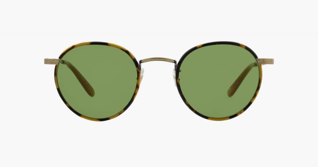 Garrett Leight Wilson sunglasses tokyo tortoise pure green