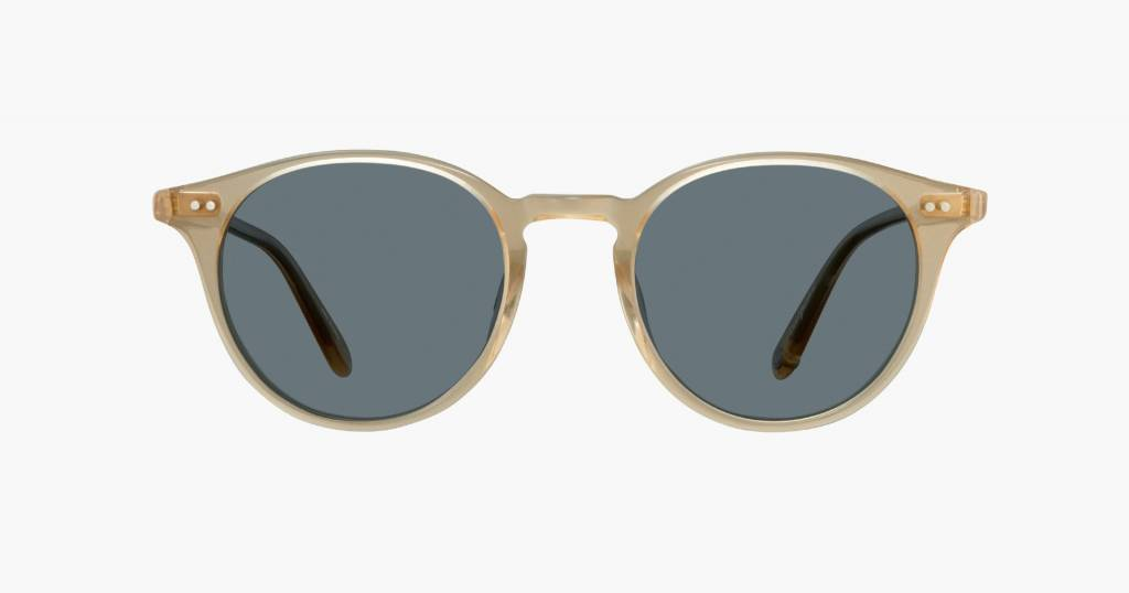 Garrett Leight Clune sunglasses blonde blue smoke
