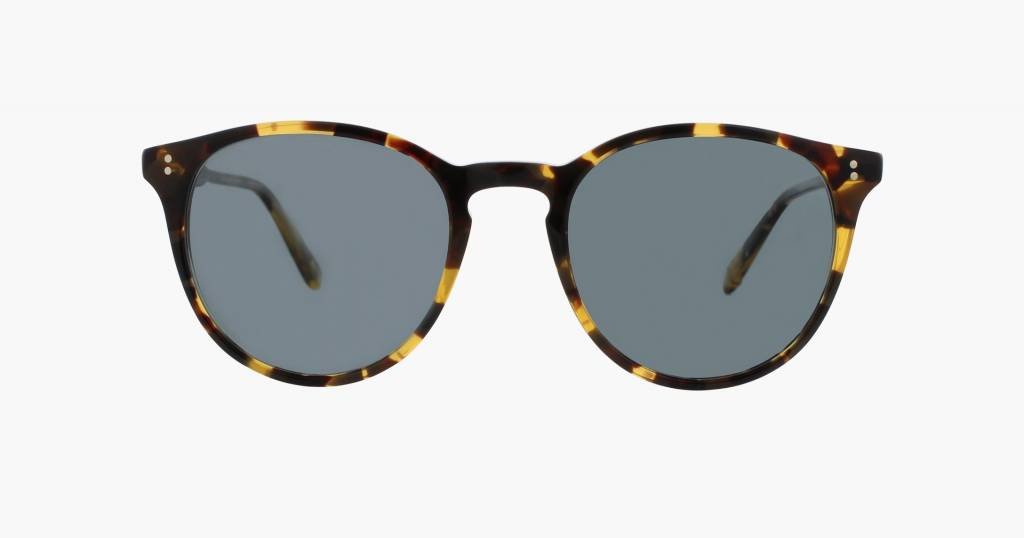 Garrett Leight Milwood sunglasses dark tortoise blue smoke polar