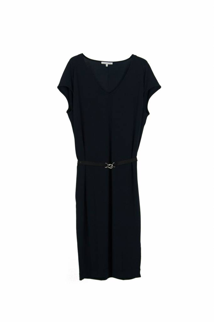 Rue Blanche Zoup V neant dress navy