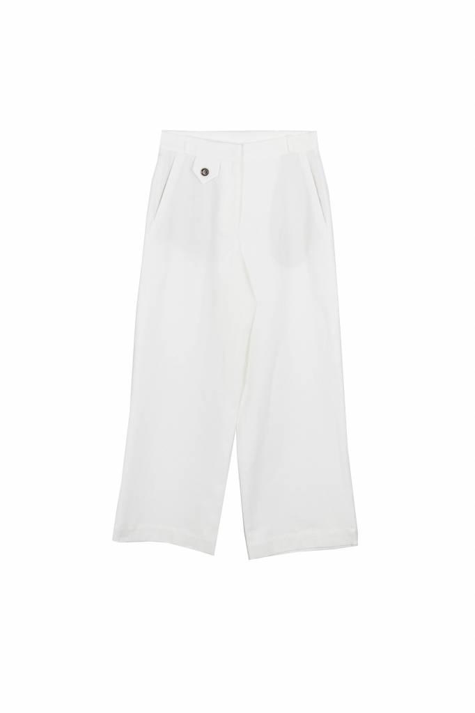 Rue Blanche Muflier pantalon white