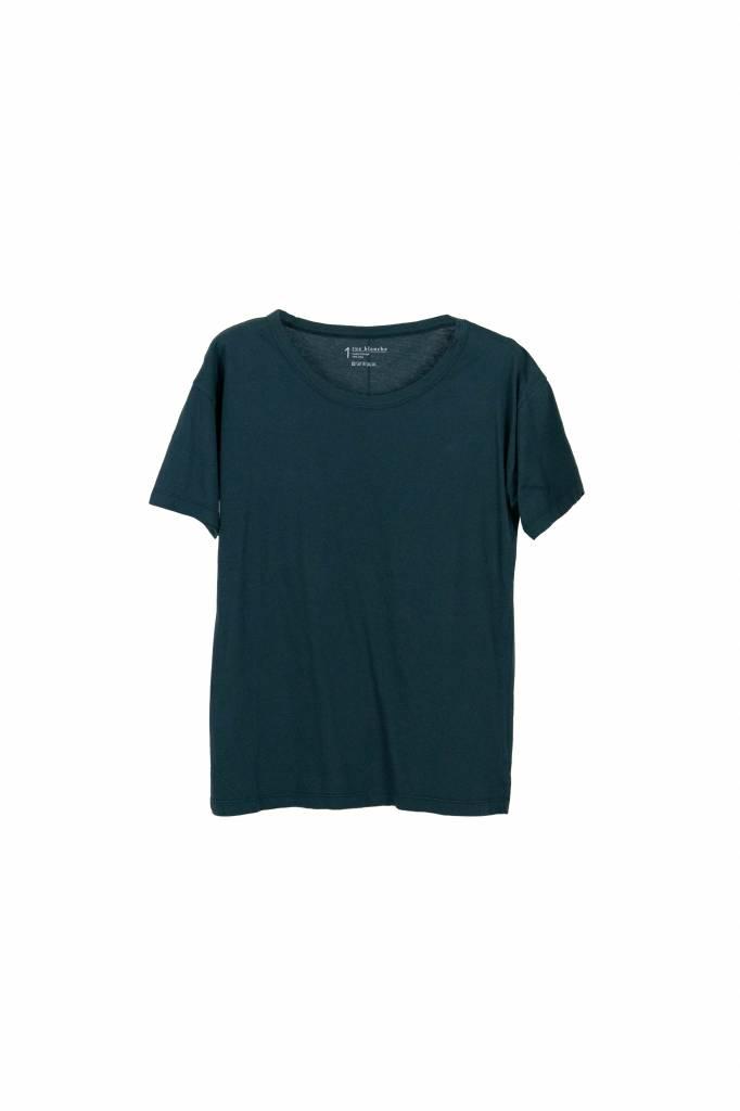 Rue Blanche Base t-shirt darkgreen