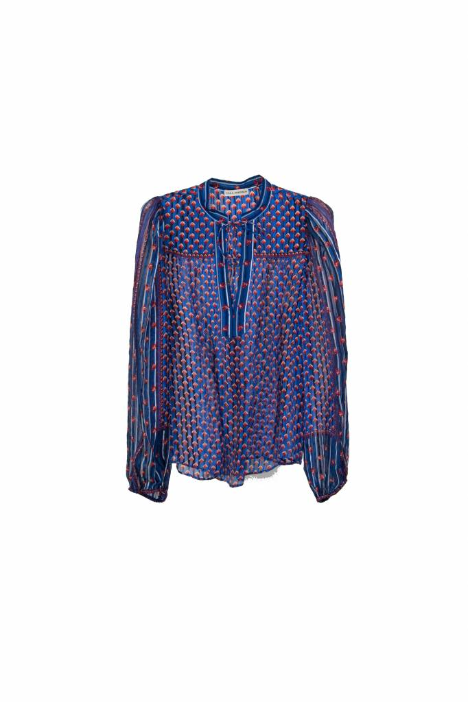 Ulla Johnson Constance blouse cerulean