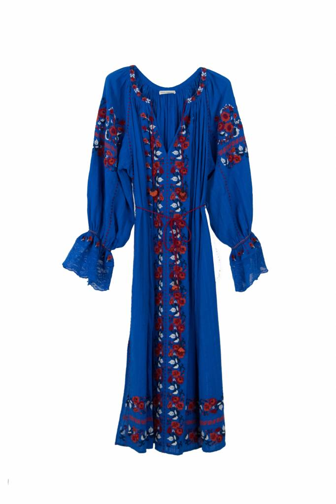 Ulla Johnson Filia dress cobalt