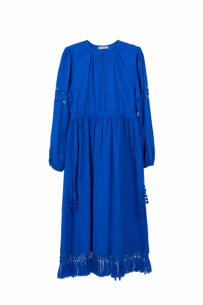 Ulla Johnson Kalea dress blue