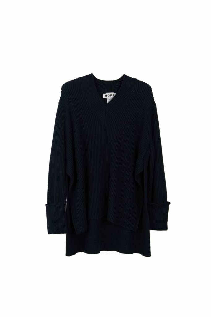 Hope Moon sweater navy