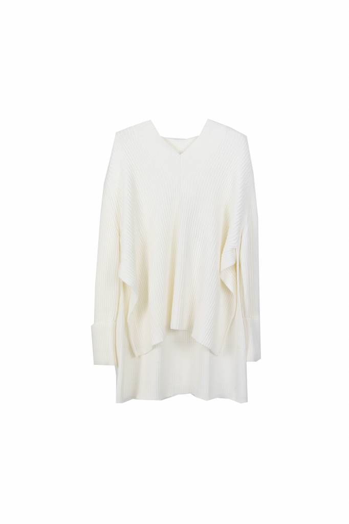 Hope Moon sweater white