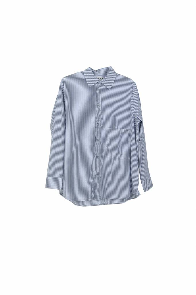 Hope Elma shirt blue stripe