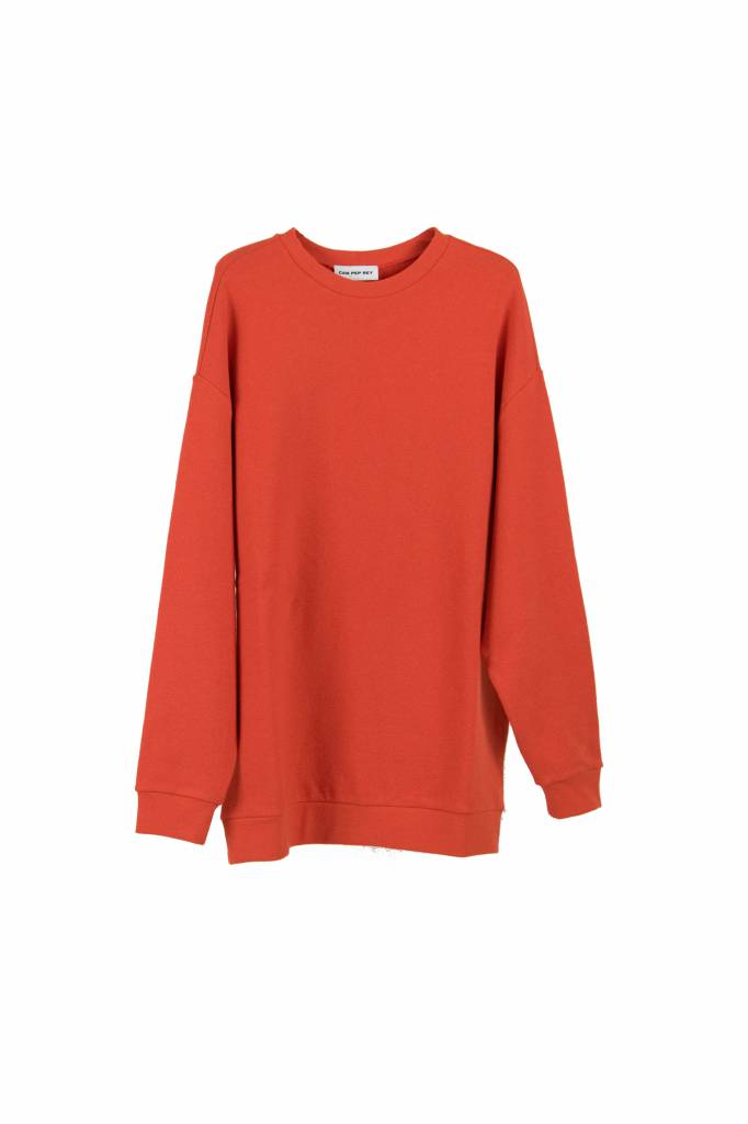 Can Pep Rey Classic sweater red orange