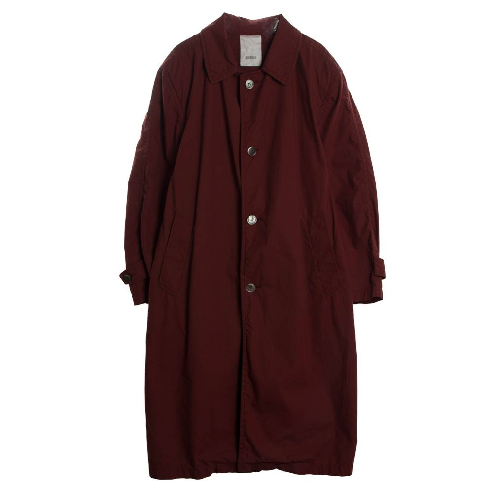 Stand Aloné oversized trenchcoat wine
