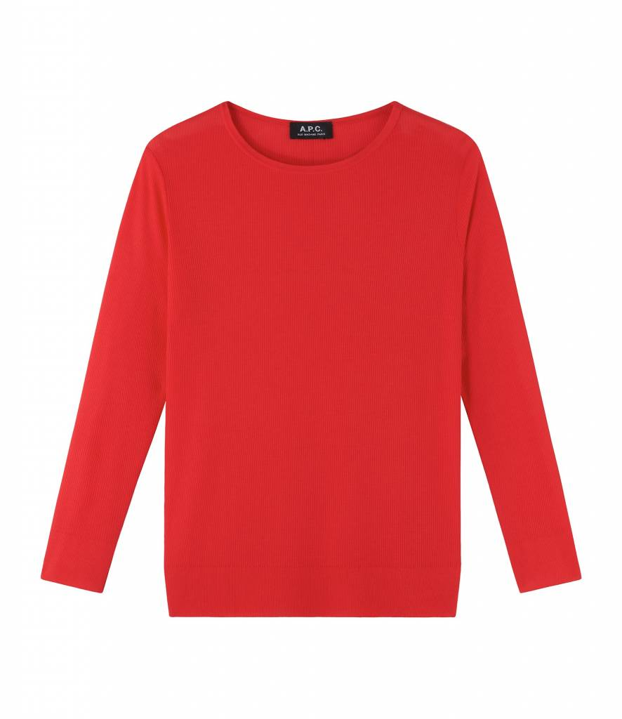 A.P.C. Laya top red