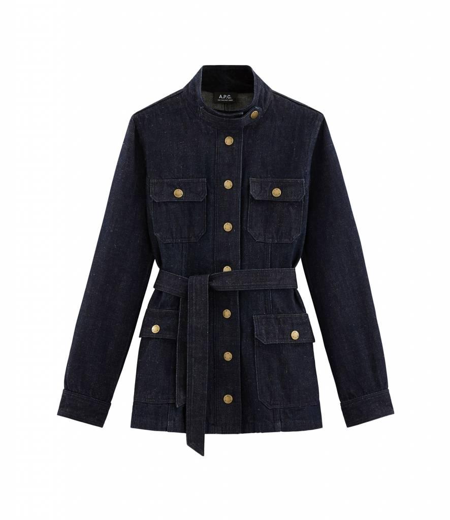 A.P.C. Cintree jacket indigo