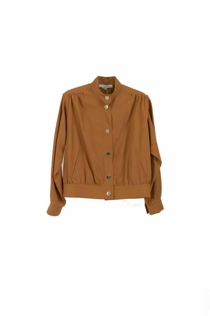Vanessa Bruno Iaki jacket terracota
