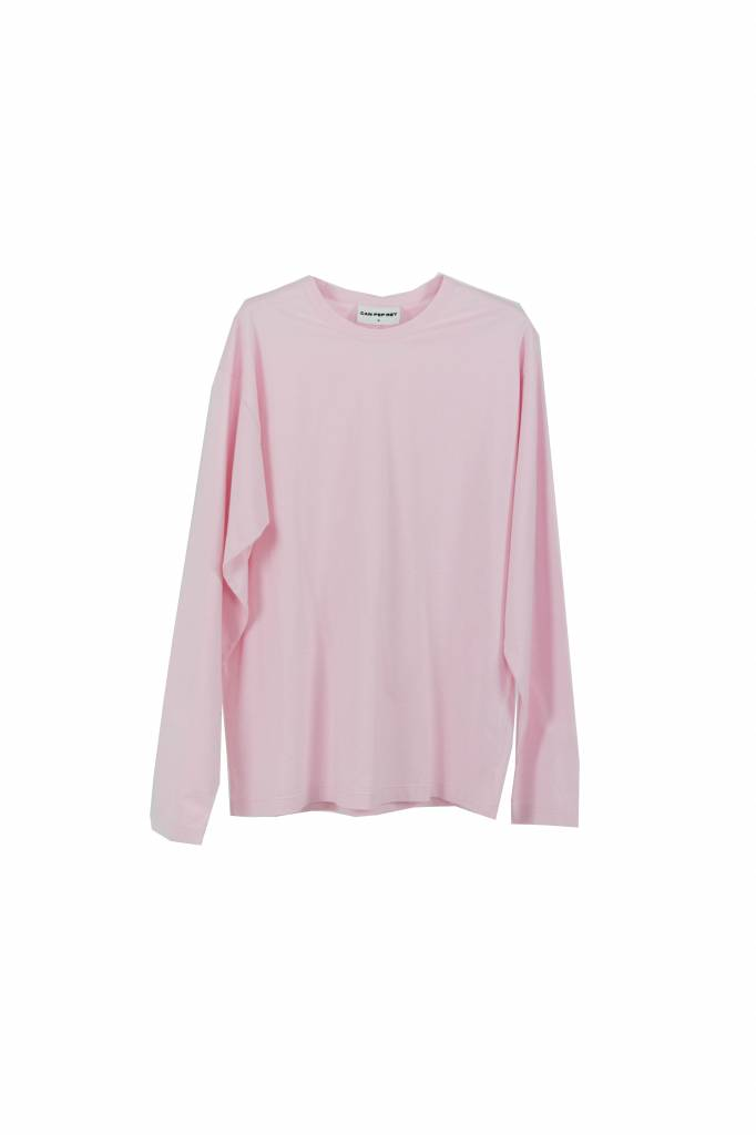 Can Pep Rey unisex t-shirt L/S pink