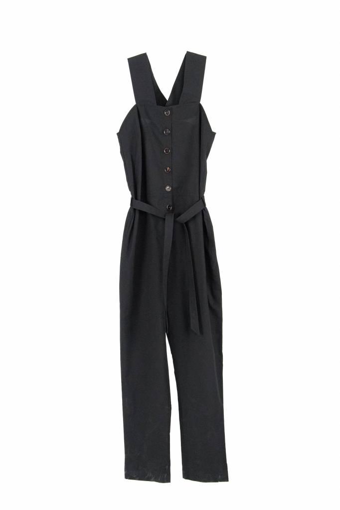 Rue Blanche Coreopsis jumpsuit black