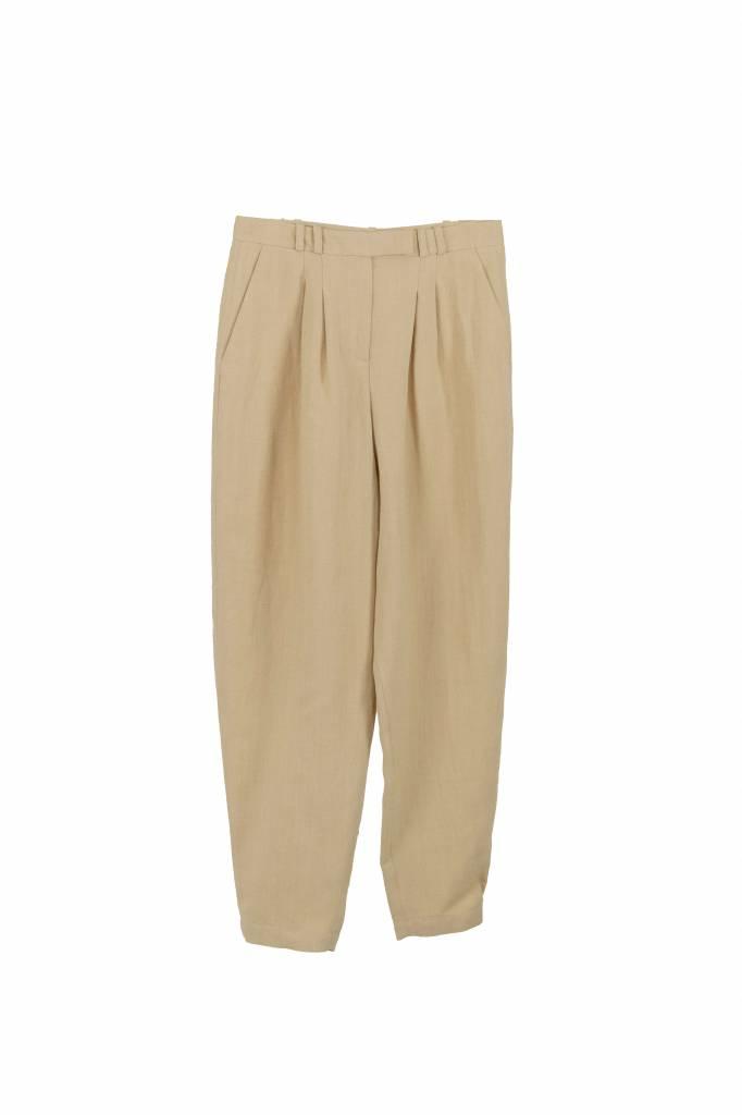 Rue Blanche Pois pantalon camel